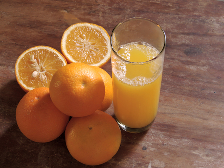 oranges, fresh and healthy tropical fruit Imagens - 127655705