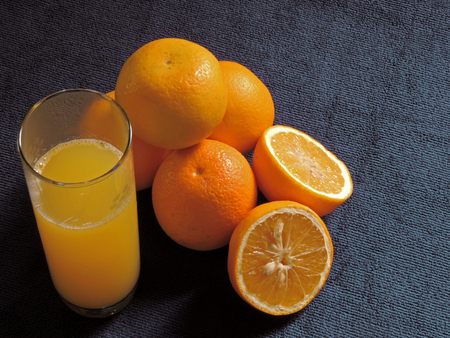 oranges, fresh and healthy tropical fruit