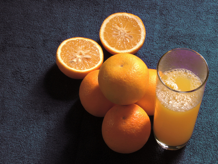 oranges, fresh and healthy tropical fruit Imagens - 127655715
