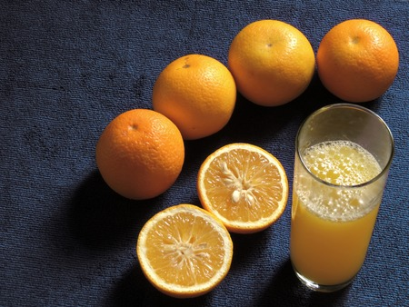 oranges, fresh and healthy tropical fruit Imagens - 127655778