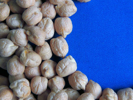 Chickpeas pure and healthy food