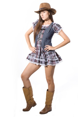 dancing girl: Very beautiful and super sexy country and western girl