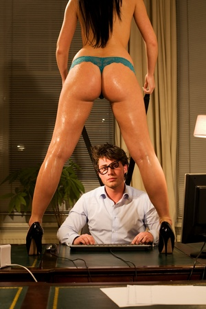 Funny image with a Very beautiful and sexy 