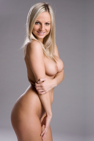 sexy nackte frau: eine sehr reizvolle und sch�ne nackte Frau