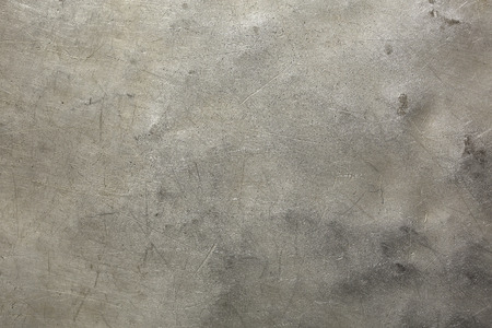 scratches: Background steel plate with deep scratches and bulges