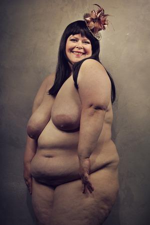 mujer sexy desnuda: Grande y bella y muy sexy mujer desnuda Foto de archivo