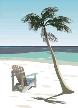 Deckchair Illustration