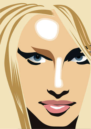 blonde blue eyes: Blonde