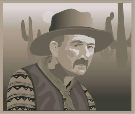 Cowbow Illustration
