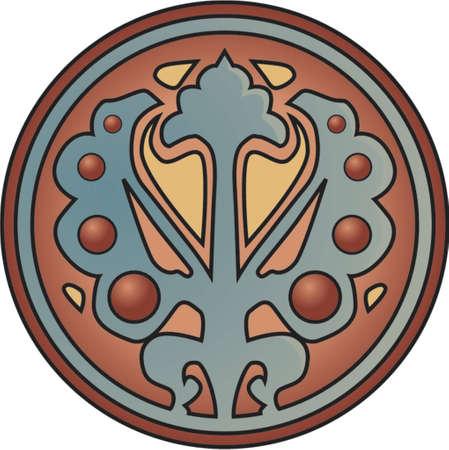 symetry: Shield Illustration