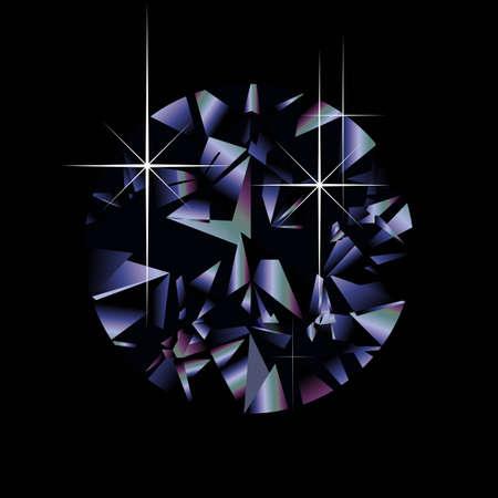 A diamond. Illustration
