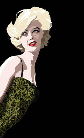 Blondie Illustration