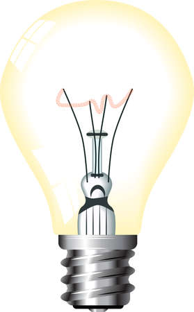 light bulb (vector)