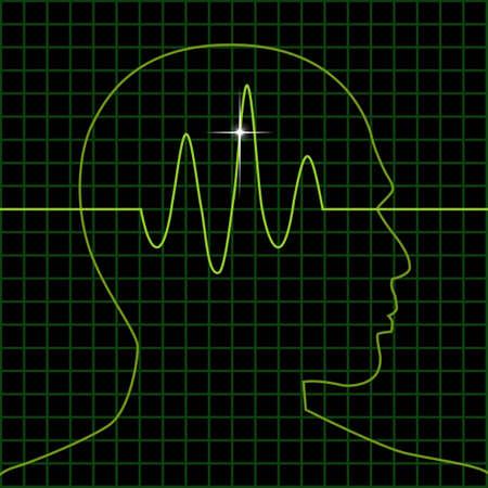sonic: brain radar Illustration