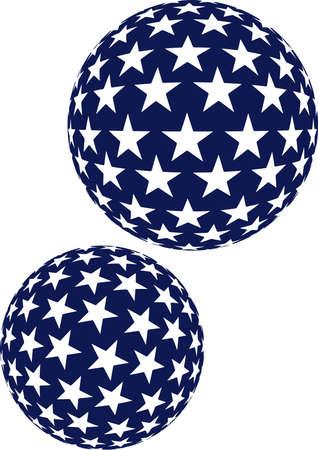 sripes: stars sripes balls spheres