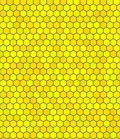 honeycomb pattern Illustration