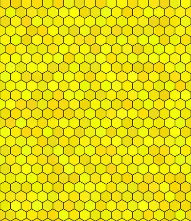 honeycomb pattern Illustration