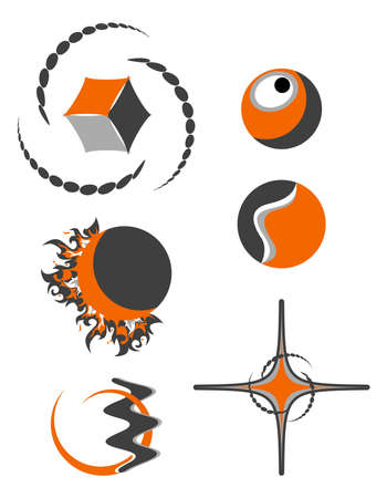 abstract logo symbols Stock Vector - 10323637