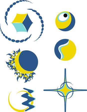 logotipo abstracto: s�mbolos de logotipo abstracto