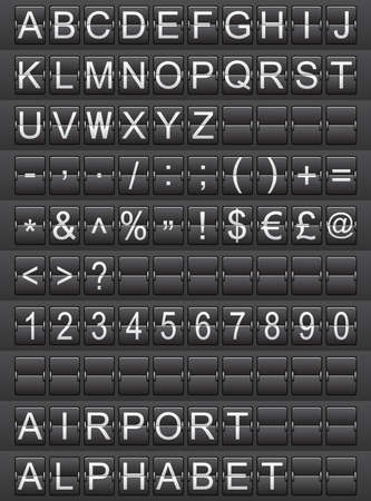 airport alphabet photo