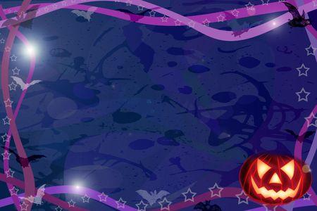Computer made illustration of an Halloween dark background Stock Illustration - 3499602