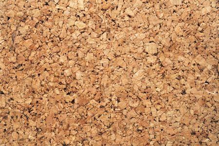 Brown cork board texture for background use