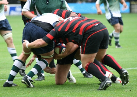 tackles: rugby