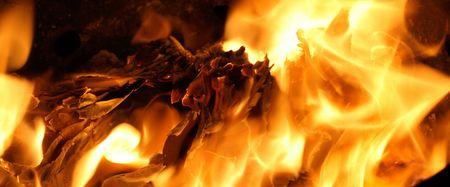 flicker: fire