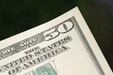 50 dollar note