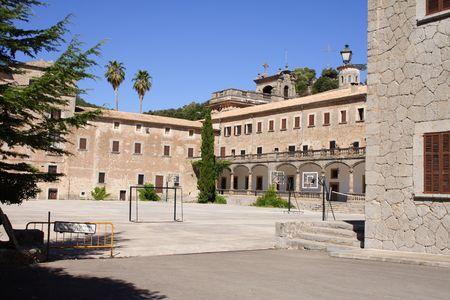 El Santuari de Lluc mallorca spain Stock Photo