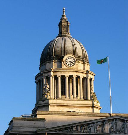 council: Council house dome Nottingham england uk