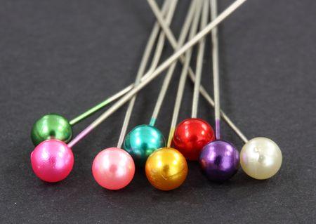 dressmaking: dressmaking pins Stock Photo
