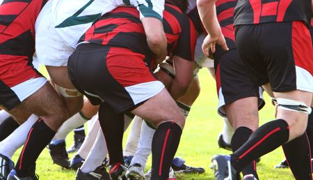 rugby action photo