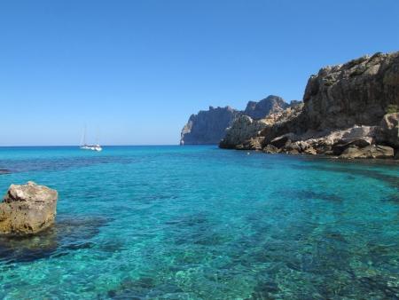 Cala San Vicente,Mallorca,Spain Stock Photo