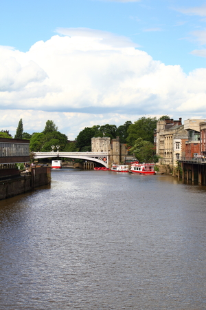 ouse: river Ouse in the City of York