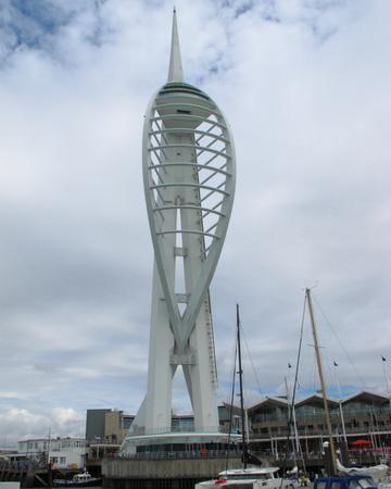 spinnaker: Spinnaker Tower Millennium Tower Portsmouth Hampshire UK