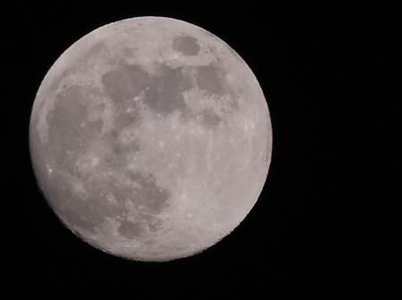 Moon in splendor