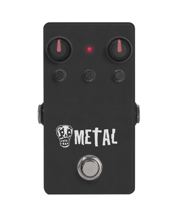 heavy effect: guitar effect pedal on white - Heavy Metal