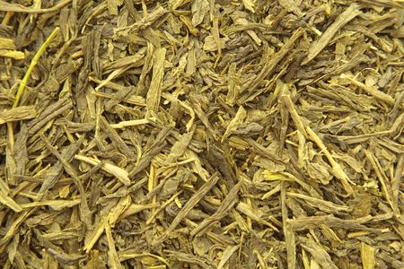 Close Up of Green Tea Texture