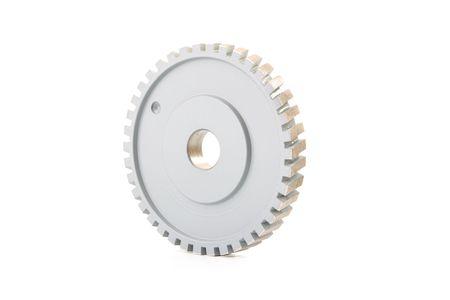 Diamond Wheel isolated on white background