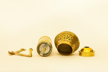 Disassembled spice grinder