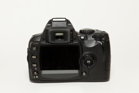 viewfinder: DSLR 35 mm fotocamera posteriore