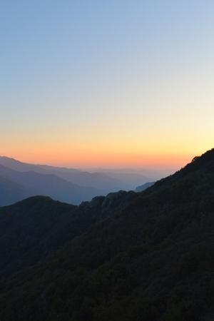 Kings Canyon sunset, California Feb 2018