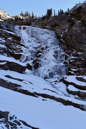 Tokopah Falls, Kings Canyon, California Feb 2018