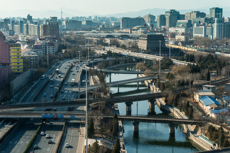 historical events: Ancient architecture and modern city of Beijing