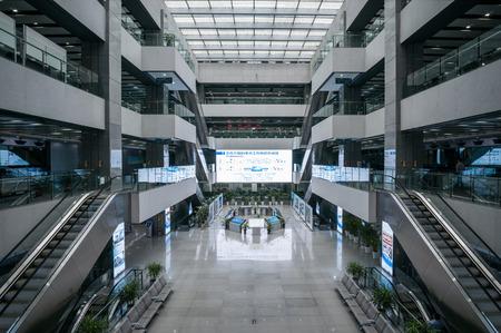 commercial docks: Xiamen free trade zone service hall Editorial
