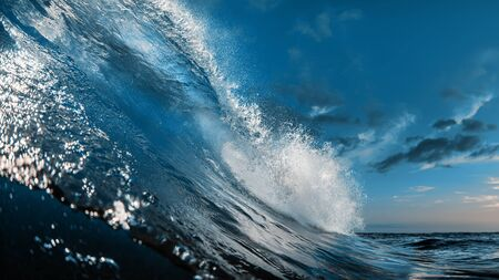 The Most Beautuful barrel surfing wave, ocean water, aquatic sport media
