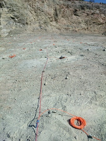 blasting: Quarry blasting