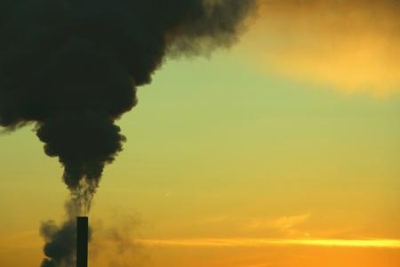 industrieel: Industriële vervuiling Stockfoto
