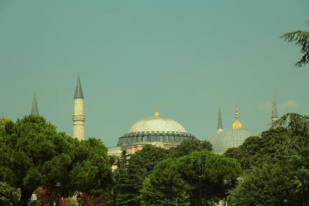 aya sofia: blue mosque and aya sofia